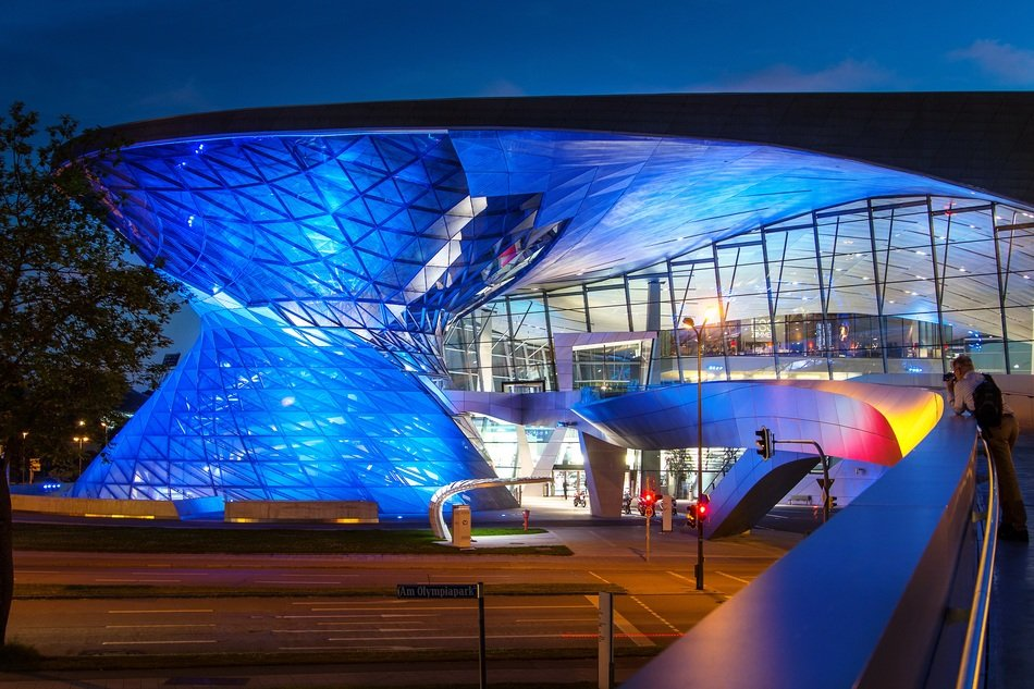 bmw welt munich germany architecture