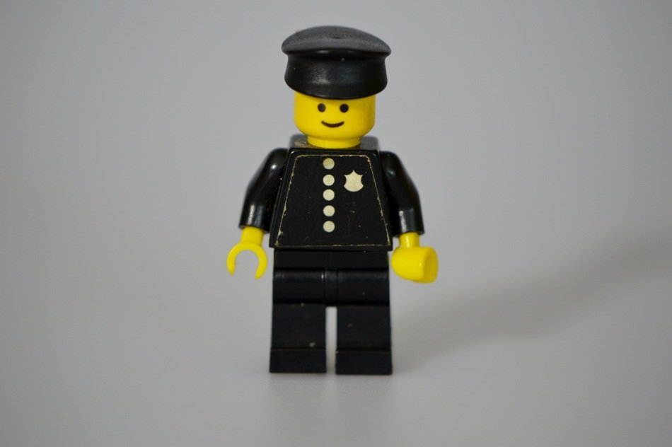 lego children colorful policemen toy