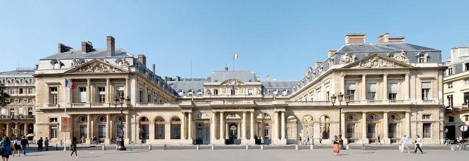 council of state building, france, paris