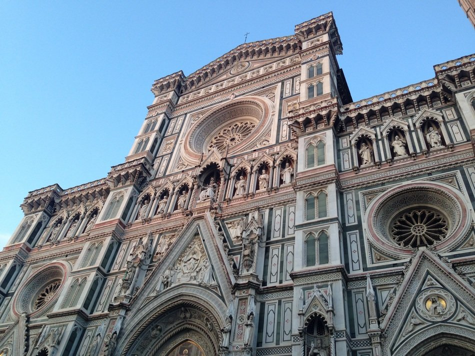 gothic cathedral Saint Mary of the Flower, italy, florence
