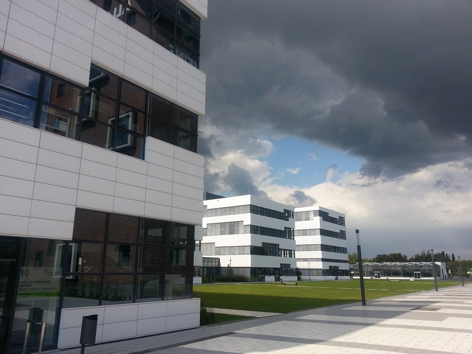 campus buildings of Rhine-Waal University of Applied Sciences, germany, kleve