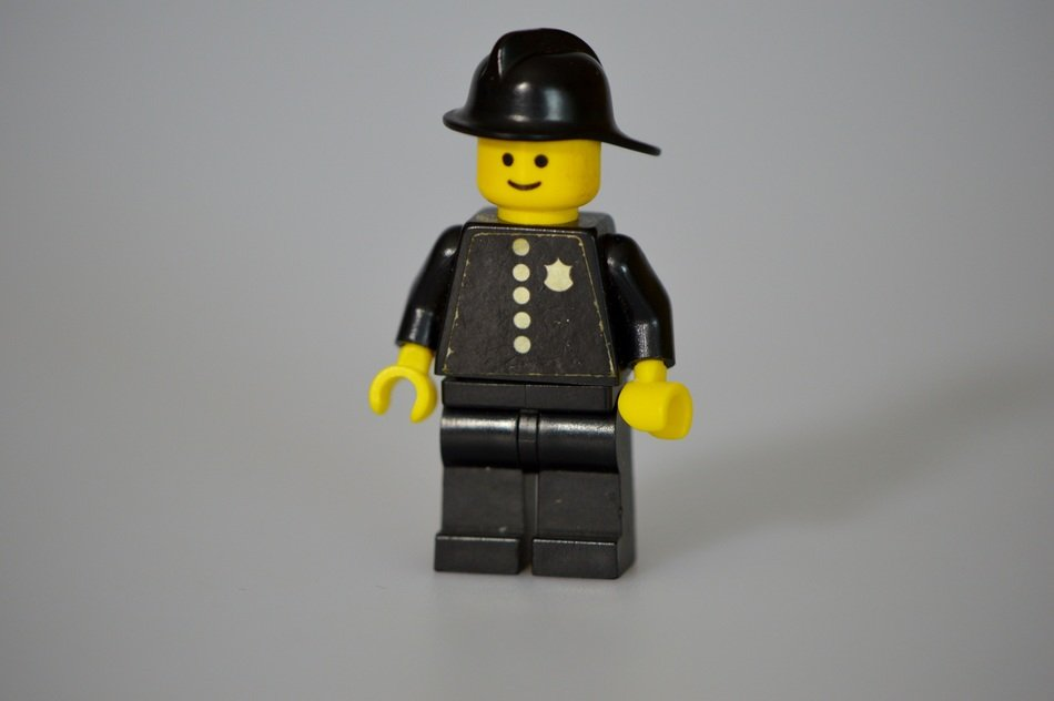 lego policeman toy for children play