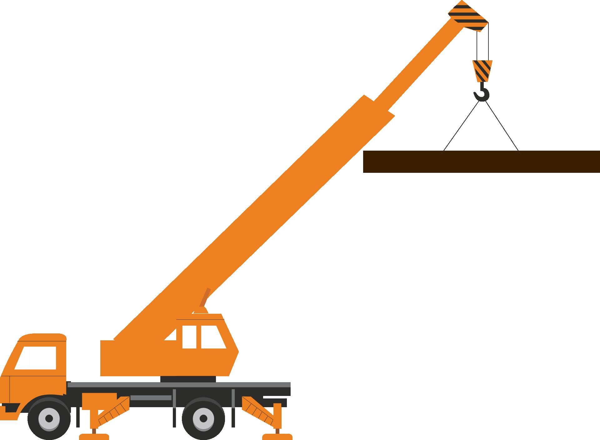 Construction crane clip art