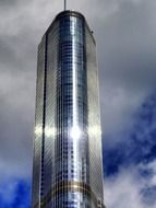 trump hotel tower at sky, usa, illinois, chicago