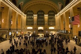 grand central train station New York