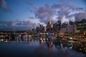 Amazing Darling harbour in Sydney
