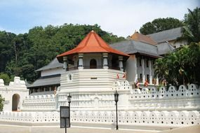 Buddhist Temple of the Sacred Tooth Relic, Sri Lanka, kandy