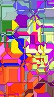 abstract colourful picture