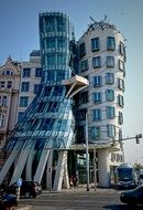 the dancing house, Nationale-Nederlanden office building, czech, prague