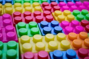 colorful lego blocks, background