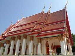 Buddhist temple Wat Chalong, thailand