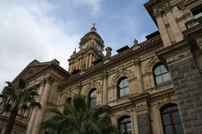 City Hall, Edwardian building at sky, south africa, cape town