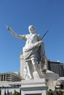 Statue of Caesar at Caesars Palace Hotel Casino, USA, Nevada, Las Vegas