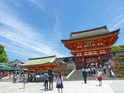 kyoto shrine japan prefecture