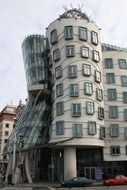 Nationale-Nederlanden building, dancing house, czech, prague