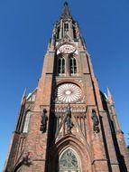 steeple in Bremerhaven