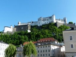 hohensalzburg middle ages fortress