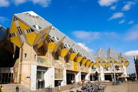 Cubic Houses by Piet Blom, Netherlands, Rotterdam