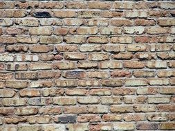 aged brick wall, background