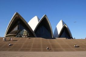 building of the Sydney Opera House