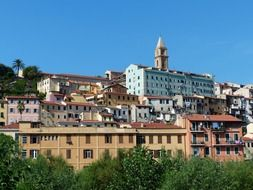 ventimiglia old town roofs homes N10