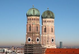 frauenkirche munich towers church