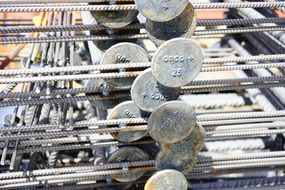 steel rods for construction
