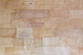 beige blocks, surface of wall, background