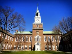baker library of dartmouth college, usa, New Hampshire, Hanover