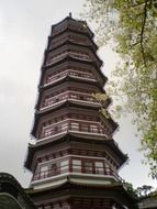 Pagoda temple in Guangzhou