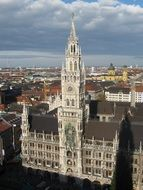 New Town Hall in city, Germany, munich