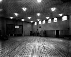 gymnasium building in Oak Ridge in Tennesse