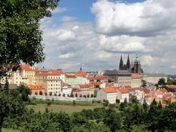 old city at summer, czech republic, prague