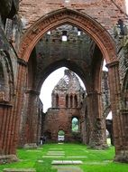 ruin gothic church Scotland