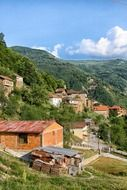 village among picturesque nature, Macedonia