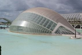music palace in city of arts and sciences, spain, valencia