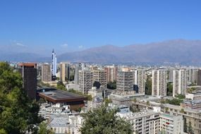 Santa Lucía Hill is a small hill in the centre of Santiago