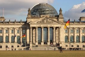 berlin germany reichstag government building