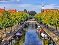 waterway in the netherlands