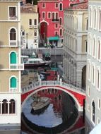 venice, lego blocks model