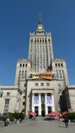 palace of culture and science, poland, warsaw