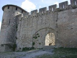 carcassonne medieval fortress
