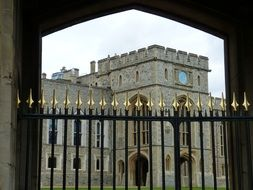 View from the fence at Windsor Castle