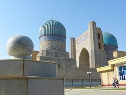 bibi xanom mosque mausoleum in Samarkand