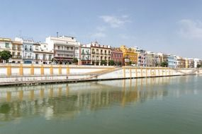 waterway in seville