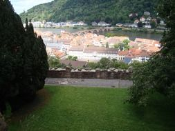 the scenic cityscape of Heidelberg, Germany