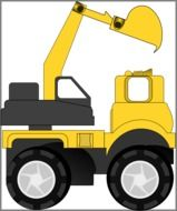 heavy machinery truck construction