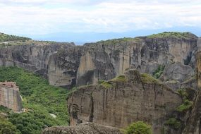 mountains in Meteora Greece