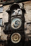 antique astronomical architecture old Prague