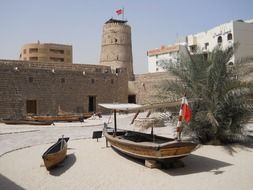 Historical arabic museum in Dubai
